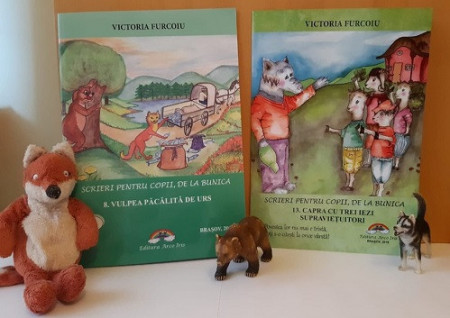 Pachet Povesti clasice: Capra cu trei iezi supravietuitori si Vulpea pacalita de urs