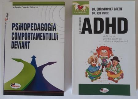 Pachet promo format din 2 carti care ii ajuta pe parinti si pe cadrele didactice sa inteleaga psihologia si problemele copiilor