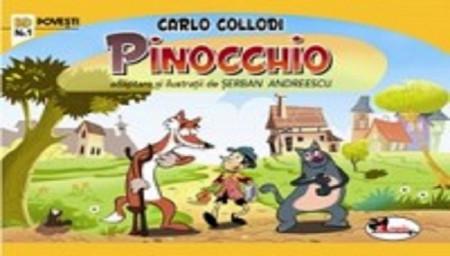 Pinocchio - benzi desenate