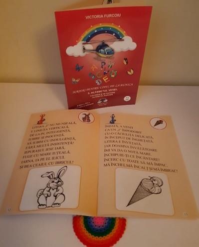 Scrieri pentru copii, de la bunica - vol. 5. Alfabetul vesel - interior