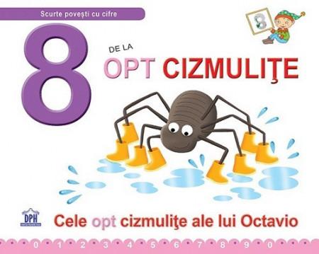 8 de la Opt cizmulite - carte ilustrata cu poveste si activitati