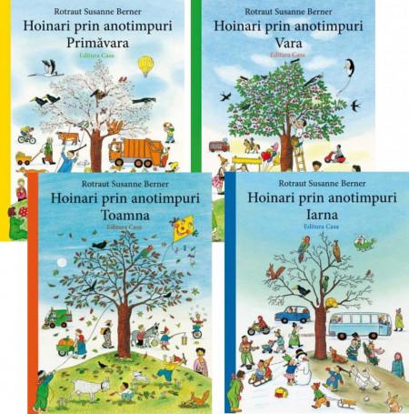 Pachet promo 4 volume Hoinari prin anotimpuri