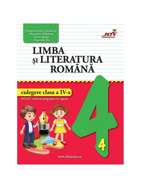 Ultimul exemplar! Limba si literatura romana. Culegere. Clasa a IV-a