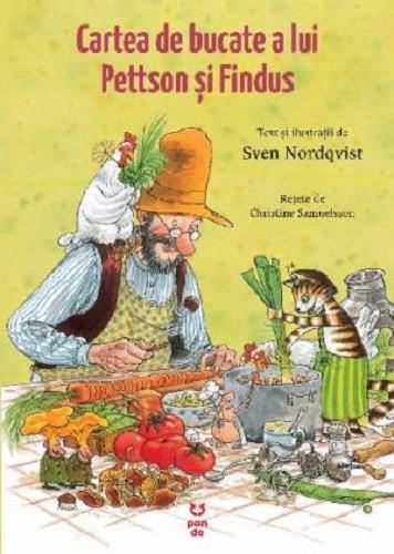 Cartea de bucate a lui Pettson si Findus - coperta
