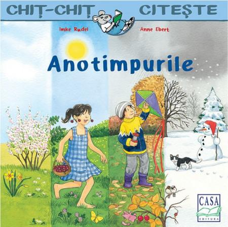 Chit-Chit citeste. ANotimpurile - carte ilustrata despre anotimpuri - coperta