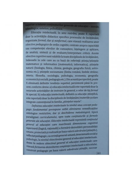 Vol. 4. Concepte fundamentale in pedagogie - interior