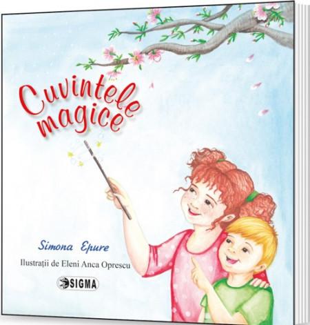 Cuvintele magice - poezii de Simona Epure - coperta