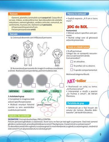Educatie civica. Manual pentru clasa a III-a. 2 volume: semestrul 1 si 2 - interior 3