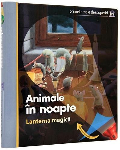 Lanterna magica. Animale in noapte - enciclopedie integral cartonata