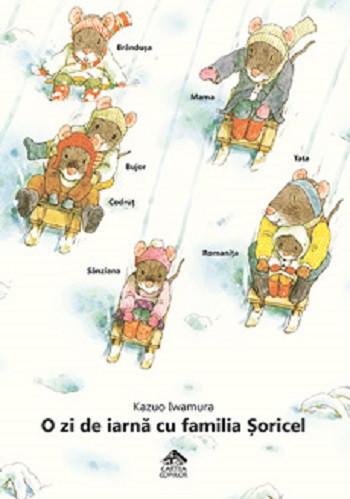 O zi de iarna cu familia Soricel - coperta