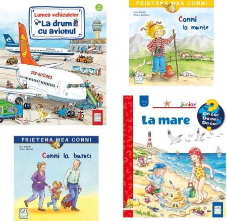 Pachet In vacanta - 4 carti pentru copiii de 2-4 ani