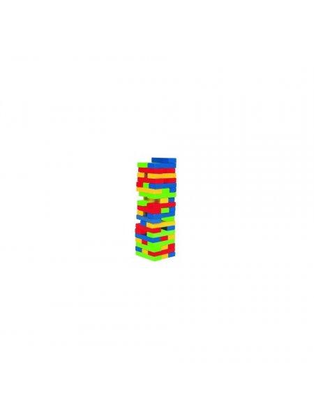 Turnul colorat - din lemn