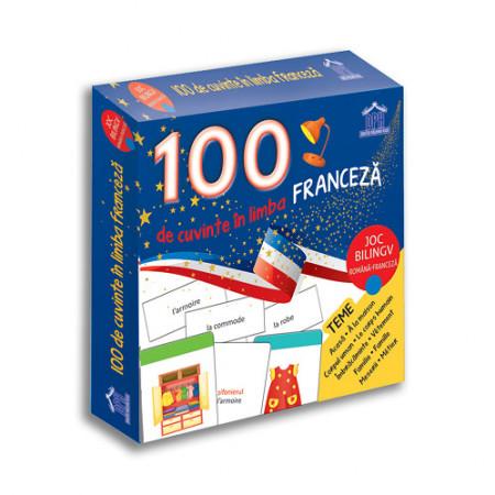 100 de cuvinte in limba franceza - joc bilingv