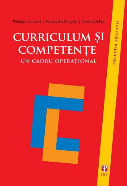 Curriculum si competente - cum se construieste un curriculum