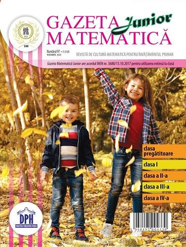 Gazeta matematica nr. 97 - noiembrie 2020