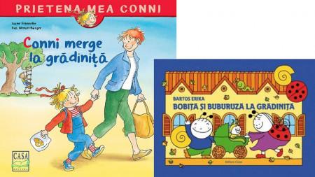 Pachet 2-3 ani Gradinita: Bobita si Buburuza la gradinita, Conni merge la gradinita