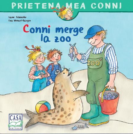 Prietena mea Conni. Vol. 8 - Conni merge la zoo  - coperta