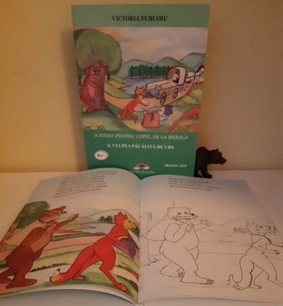 Scrieri pentru copii, de la bunica - vol. 8. Vulpea pacalita de urs - interior