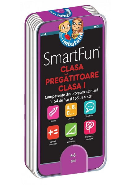Smart Fun. Clasa pregatitoare si clasa I - - fise cu activitati din programa scolara de clasa pregatitoare si clasa I