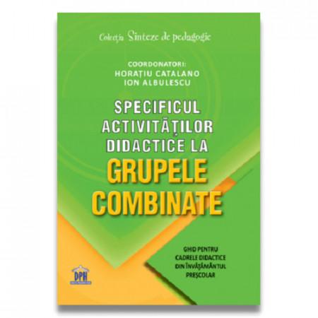 Specificul activitatilor didactice la grupele combinate: Ghid pentru cadrele didactice din invatamantul prescolar - coperta 1