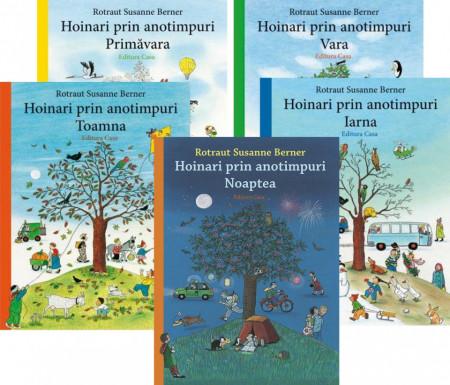 Pachet 5 volume Hoinari prin anotimpuri