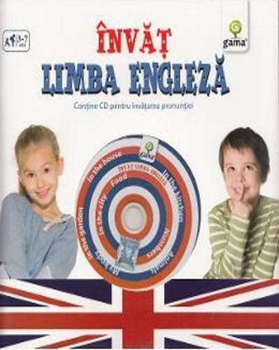Invat limba engleza - carte cu CD multimedia