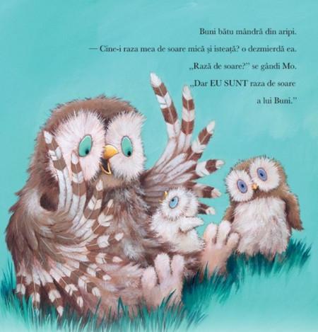 Iubire cat pentru doi - o poveste blanda pentru familiile care asteapta in bebelus, din care copiii invata ca iubirea nu se imparte, ci se inmulteste - detaliu 4