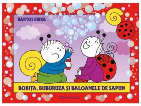 Bobita, Buburuza si baloanele de sapun - coperta