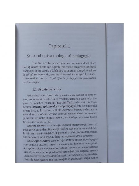 Vol. 1. Concepte fundamentale in pedagogie - interior