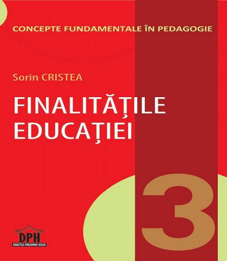 Vol. 3. Concepte fundamentale in pedagogie - coperta