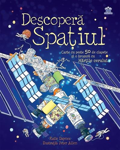 Descopera Spatiul  enciclopedie integral cartonata, cu ferestre