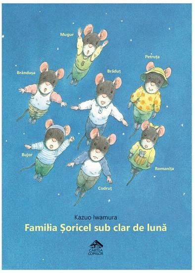 Familia Soricel sub clar de luna - coperta