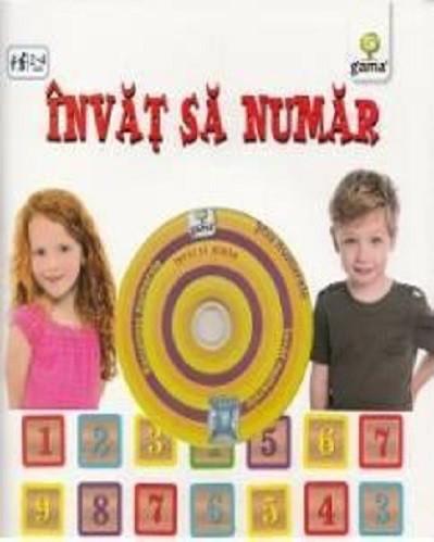 Invat sa numar - carte cu CD audio multimedia