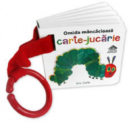 Omida mancacioasa de Eric Carle - varianta de agatat la carucior
