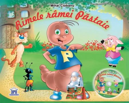 Rimele ramei Pastaie - carte de poezii cu CD audio