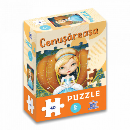 Cenusareasa - puzzle de 40 de piese
