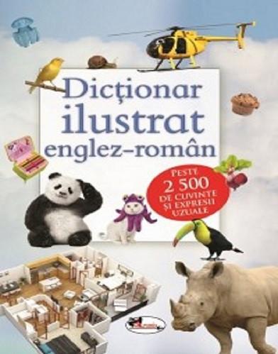 Dictionar ilustrat englez-roman - pentru scolari