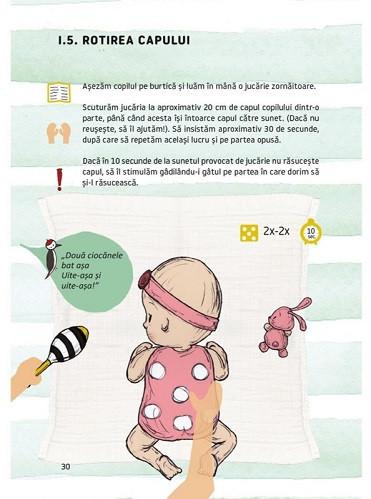 Kinetoterapie prin joaca - Exercitii pentru dezvoltarea motorie a bebelusilor de 1-9 luni - interior 2