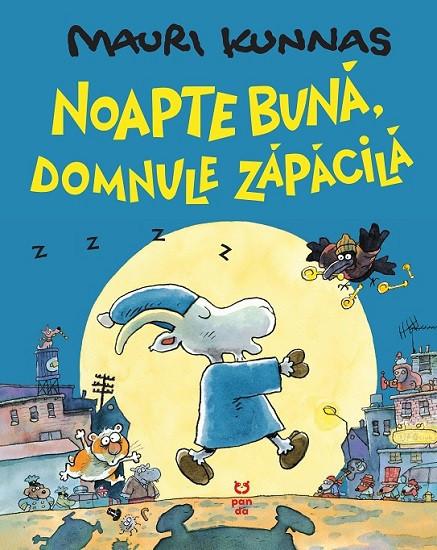 Noapte buna, domnule Zapacila - coperta