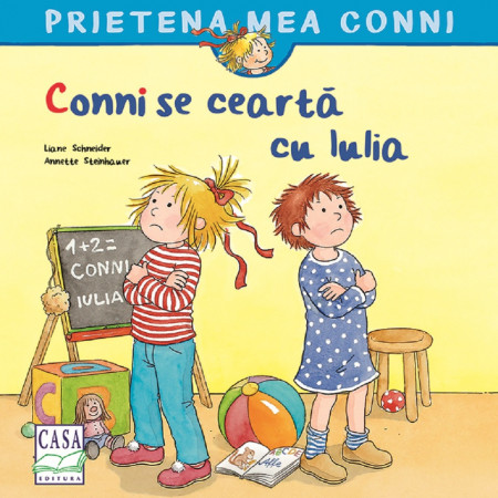 Prietena mea Conni. Vol. 15 - Conni se cearta cu Iulia - coperta