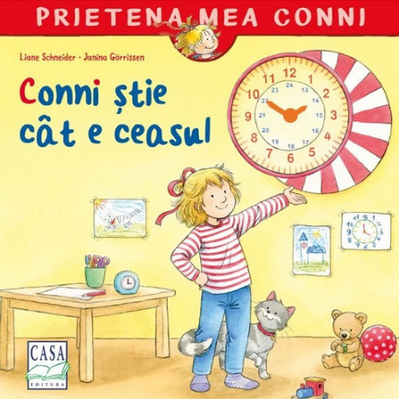 Prietena mea Conni. Vol. 27 - Conni stie cat e ceasul - coperta