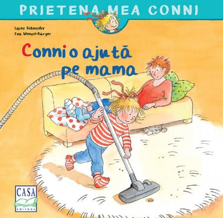 Prietena mea Conni. Vol. 4 - Conni o ajuta pe mama - coperta