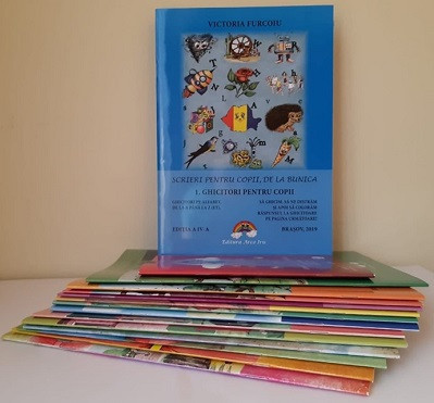 """Pachet 16 volume """"Scrieri pentru copii de la bunica"""""""