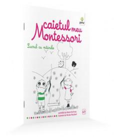 Ultimul exemplar! Caietul meu Montessori. Lucrul cu mainile