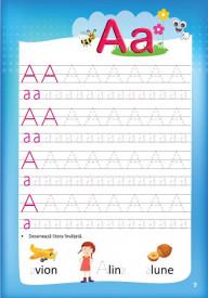 Caiet de scriere pentru clasa pregatitoare. Grafisme, litere, cifre - interior 2