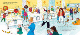 Catelusa din spital - interior 3