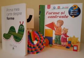 """Pachet promo """"Forme"""": """"Forme si contraste"""" si """"Prima mea carte despre culori"""""""