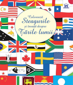 Ultimul exemplar! Coloreaza steagurile si invata despre tarile lumii