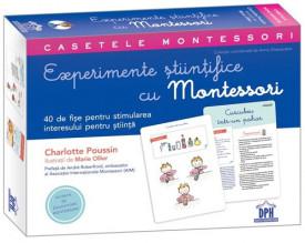 Casetele Montessori. Experimente stiintifice cu Montessori