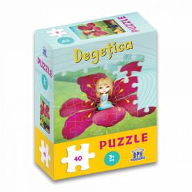 Degetica - puzzle 40 de piese